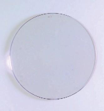 Kunststoffh nger rund flach 100 mm kunststoffscheiben for Dekosteine rund