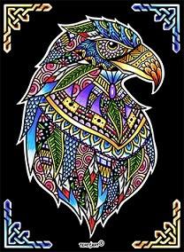 Ausmalbilder Zeichnungen Aus Samt Mandala Adler Bilder Zum