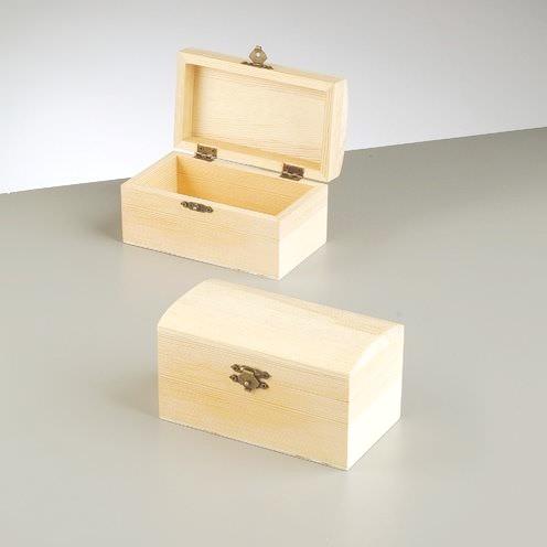 Holzkiste Holz Boxen Oder Schatztruhe 15 5 Cm Mit Verschluss Natur