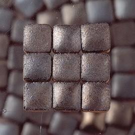 Mini Mosaik Fliesen Zum Basteln Kleine Mosaiksteine Mini Anthrazit - Mosaik fliesen metallic