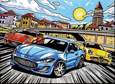 Ausmalbilder Aus Samt Autorennen Autos Bilder Zum Ausmalen Samtbilder Terciart Kaufen Im Shop Bei Bastelwelt Creativ
