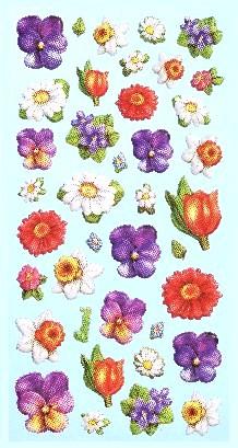 Softy Sticker *Blüten* 3451158 NEU