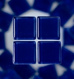 "Mosaik Soft ""blau"", 10x10 mm, 200 gr."