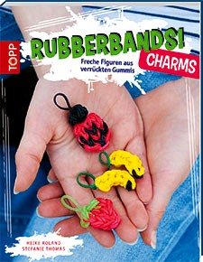 Buch Rubberbands-Charms, Loombänder