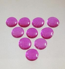 Glasnuggets pink- magenta, 17-20 mm, 200 gr Box