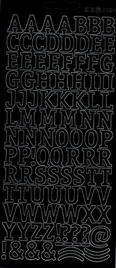 Sticker Buchstaben Und Zahlen In Silber Und Gold Kaufen