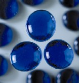 "Glasnuggets ""blau"", 17-20 mm, 250 gr"