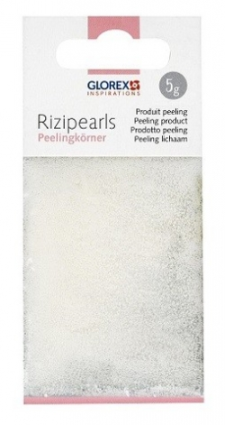 Peelingperlen Rizipearls, weiss, 5 gr.